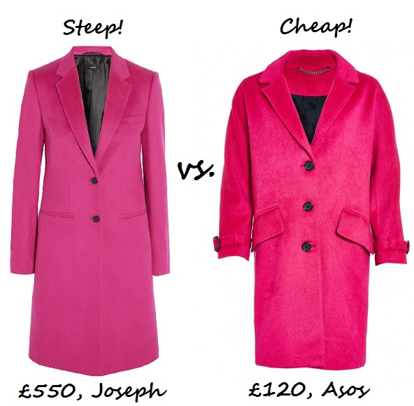 Steep v cheap pink coat