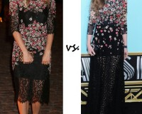 Sienna Miller vs. Isla Fisher…Who wore Dolce & Gabbana better?