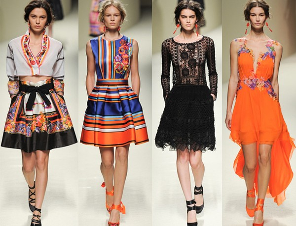 Milan Fashion Week SS14 highlights from Gucci, Alberta Ferretti, DSquared2 and more