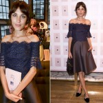 Alexa Chung wears Carven for 'It' book launch