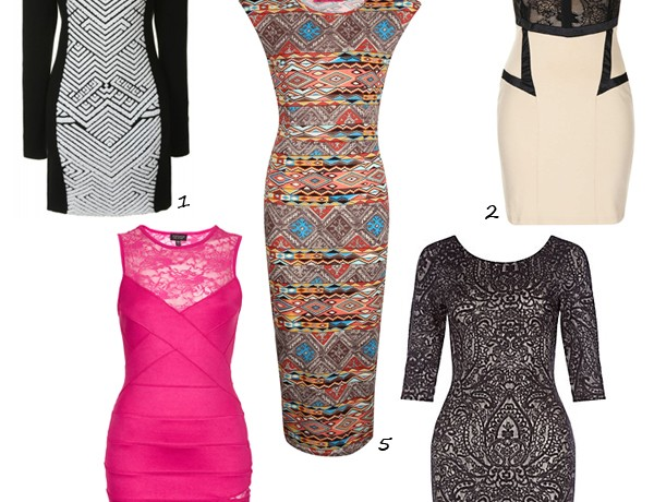 Beautiful bodycon dresses for a purse-friendly price!