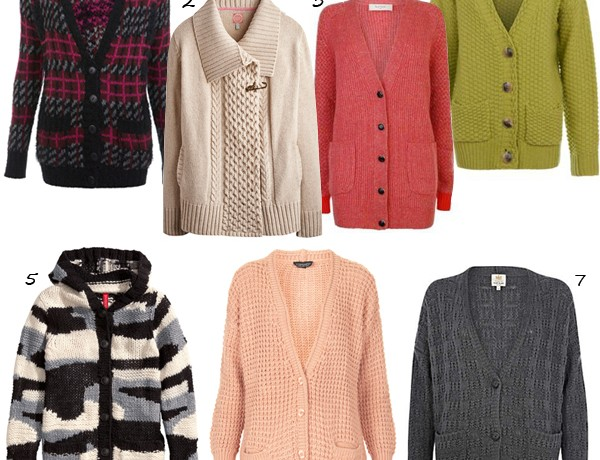 7 super chunky cozy cardigans
