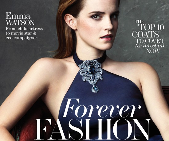 Emma Watson talks The Green Carpet Challenge in Net a Porter's The Edit