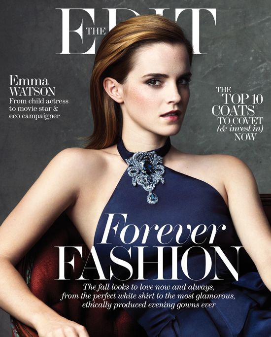 emma watson the edit cover