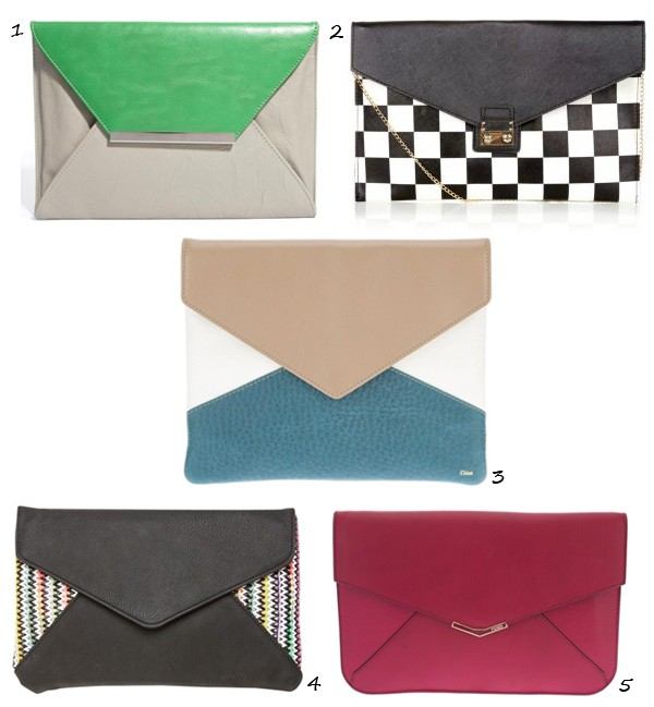 Why we love the envelope clutch!