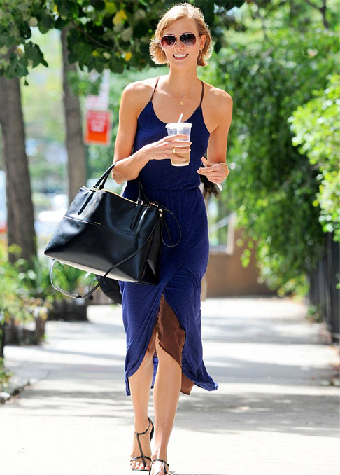 Karlie Kloss does 'effortless cool' in Coach