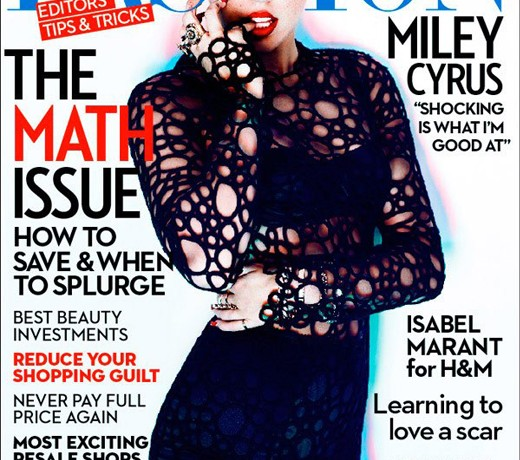 """I think it is better to be stylish than trendy"" – Miley Cyrus, Fashion, November 2013"
