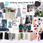 Mulberry Mood board (first look at inspiration behind the SS14 collection!)