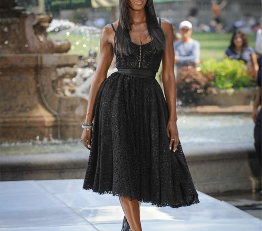 Naomi Campbell, the chat show hostess?