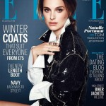 Natalie Portman in Versace for Elle UK November