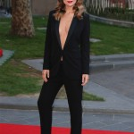Olivia Wilde dares to bare in Gucci at Rush London premiere