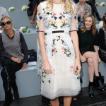 Poppy Delevingne wows in Erdem and Coach during LFW