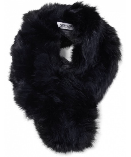 Yves Salomon - Rabbit Fur Short Clip Collar