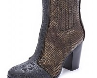 Lunchtime Buy: Rachel Zoe Kane snake embossed booties