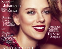 Scarlett Johansson is ready for her close up on Harper's Bazaar UK October