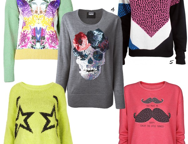 Have a bit of fun with these bold statement sweaters!