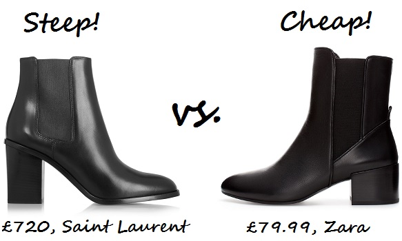 steep v cheap chelsea boot