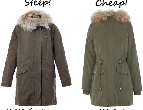 Steep vs. Cheap: Parka coat