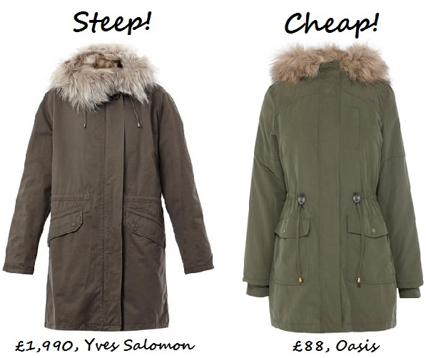 steep v cheap parka