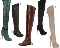 Keep your legs warm this winter with these fierce thigh high boots