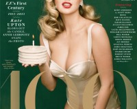 Kate Upton covers Vanity Fair's 100 year anniversary issue