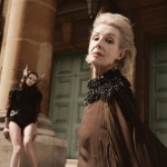 Gabriel Velma casts 82-year-old Hollywood star Jenni Rhodes in AW13 ad