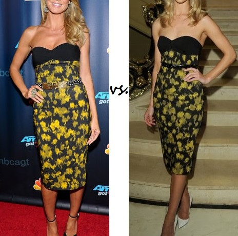 Heidi Klum vs. Rosie Huntington-Whiteley…Who wore Michael Kors better?