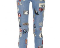 Lunchtime Buy: 3.1 Phillip Lim patch appliqued skinny jeans
