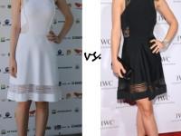 DF vs OW in A.L.C petra dress