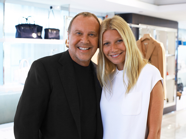 Michael Kors. Michael Kors and Gwyneth Paltrow Partner for the Holidays