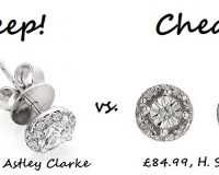 Steep vs. Cheap: Diamond Stud Earrings