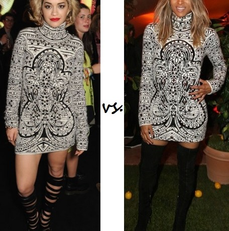 Rita Ora vs. Ciara…Who wore Emilio Pucci better?