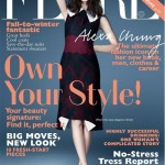 Alexa Chung gets sexy for Flare's November issue