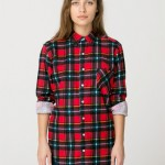 Lunchtime Buy: American Apparel unisex plaid shirt