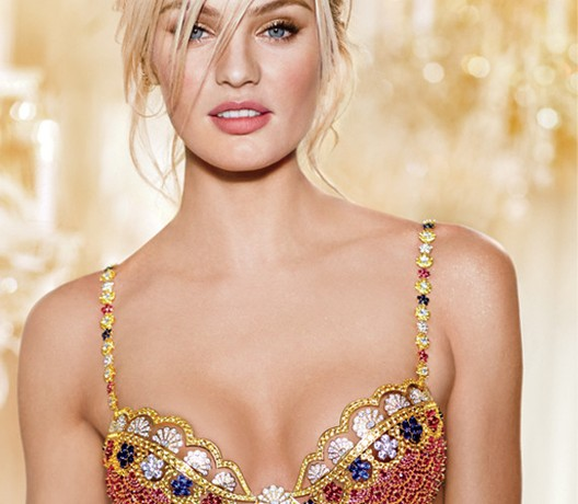 Candice Swanepoel to model the Royal Fantasy bra at Victoria's Secret Fashion Show