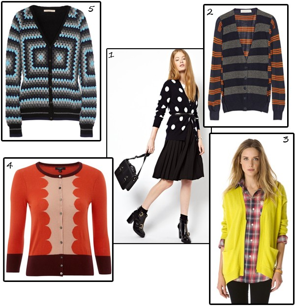 Five crazy cool cashmere cardigans