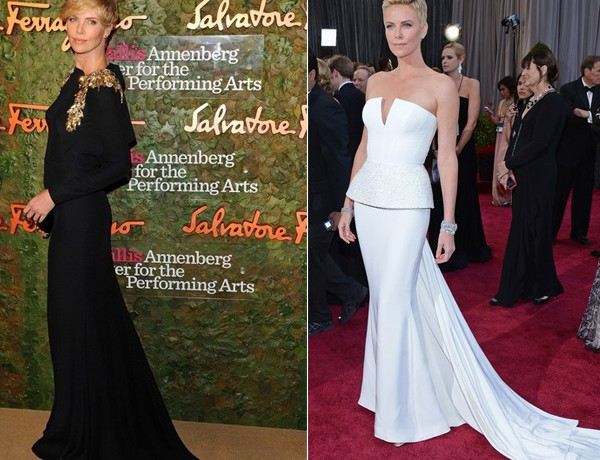 Charlize Theron, we love your style