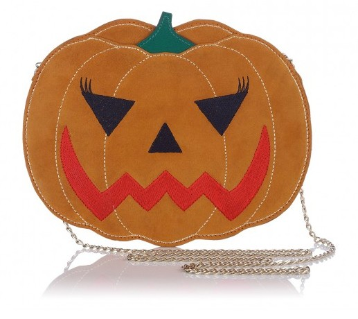 Lunchtime Buy: Charlotte Olympia 'Boo!' pumpkin bag