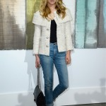 Clemence Poesy does simple chic on Chanel FROW