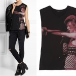 Lunchtime Buy: Maje Stars David Bowie print cotton tank