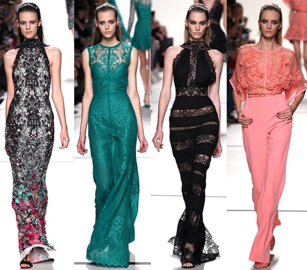 Paris Fashion Week SS14 highlights from Elie Saab, Stella McCartney, Saint Laurent & more