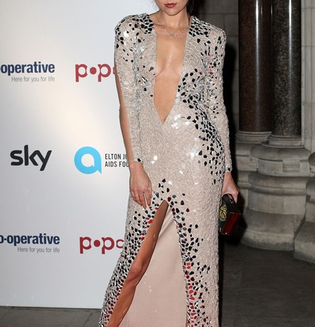 Eliza Doolittle dares to bare at Attitude Magazine Awards
