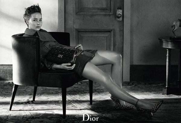 Jennifer Lawrence returns for more timeless Dior pics