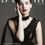 Jennifer Lawrence entices us on Harper's Bazaar UK November cover
