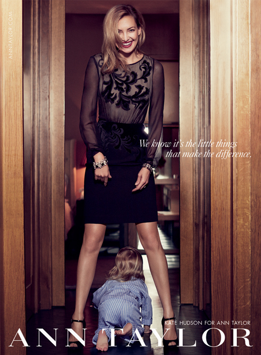 Kate Hudson's new Ann Taylor Holiday campaign is all about family