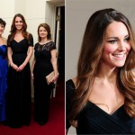 Kate Middleton back in trusty Jenny Packham for Action on Addiction gala
