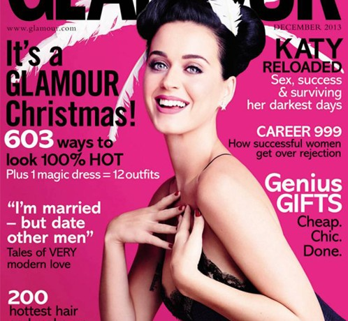 Katy Perry talks sex and success in Glamour UK December
