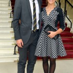 Kim Sears supports Andy Murray's OBE in Matthew Williamson