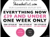 Everything £39 and under at Kurt Geiger – one week only!