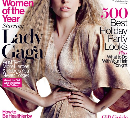 """I'm confident in who I am"" – Lady Gaga, Glamour US December"